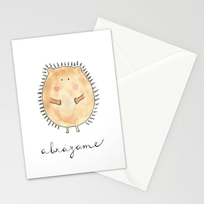 Abrázame Stationery Cards