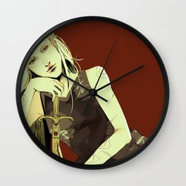 Emma Carstairs Wall Clock