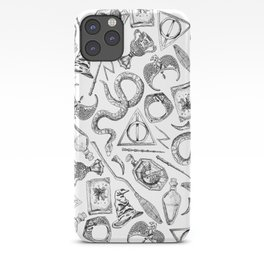 Harry Potter Horcruxes and Items iPhone Case