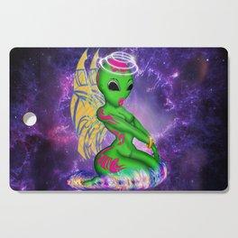 Alien Angel Cutting Board