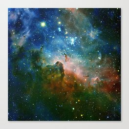 Hidden Secrets of Carina Nebula Canvas Print