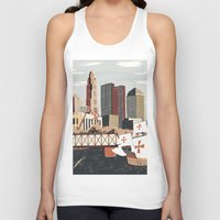 ohio Tank Tops featuring Columbus, Ohio by Sam Brewster