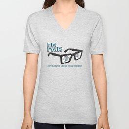 No Fair athletic gear for geeks Unisex V-Neck