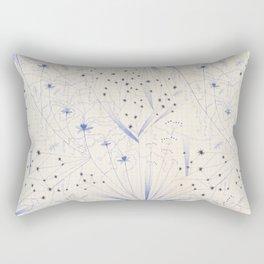 bleu craie Rectangular Pillow