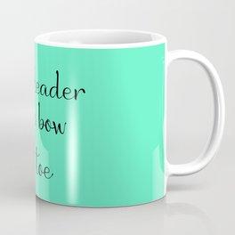 Cheerleader - Mint Coffee Mug