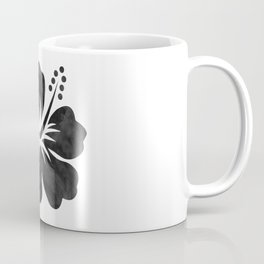 Hibiscus Watercolor Coffee Mug