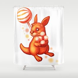 Lolliroo Shower Curtain
