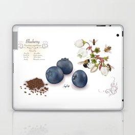 Blueberry and Pollinators Laptop & iPad Skin