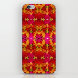 Like flowers and butterflies iPhone Skin