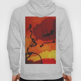 abstract composition Hoody