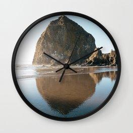 Cannon Beach, Oregon Wall Clock