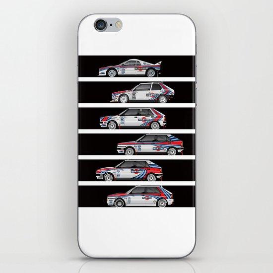 Lancia Martini Rally Cars iPhone & iPod Skin