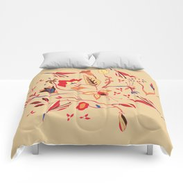Flowers of world Comforters