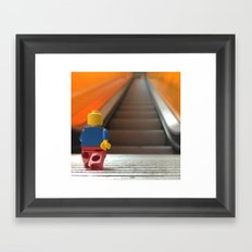 Going Up! Framed Art Print