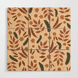 June Pattern Wood Wall Art