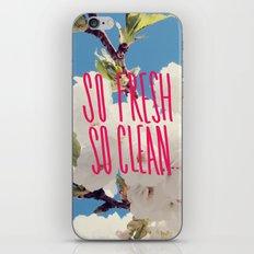 SO Fresh SO Clean iPhone & iPod Skin