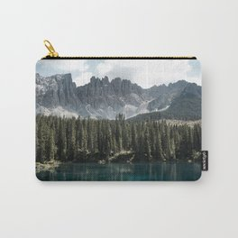 Lake Carezza - Italy -  Fine Art Landscape Photograph Carry-All Pouch