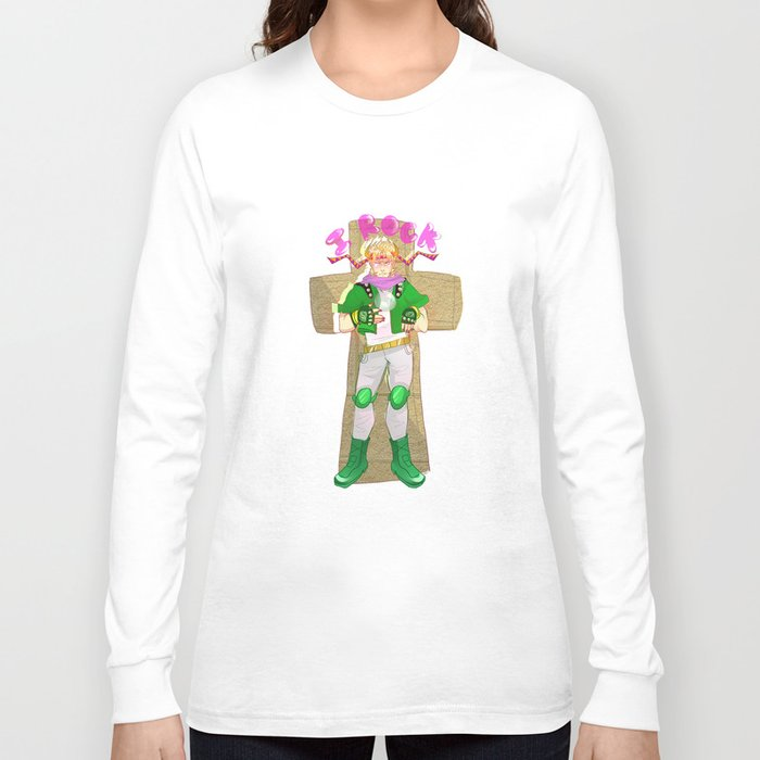 Caesar Zeppeli Rocks!!!1!! Long Sleeve T-shirt