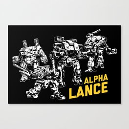 Alpha Lance Canvas Print