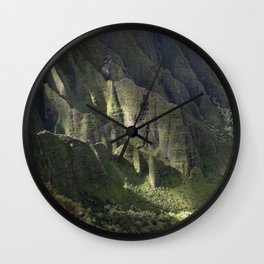 Hawaii: Ray of Divine Light Wall Clock