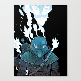 Ghost Punk Canvas Print