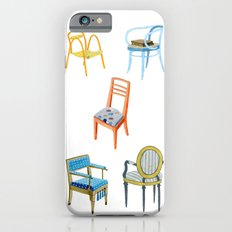 Chairs number 3 iPhone 6s Slim Case
