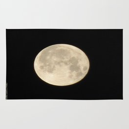 Lunar Beauty 1...Original Photography Rug