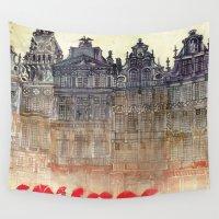 takmaj Wall Tapestries featuring Brussels by takmaj