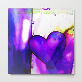 Heart Dreams 1I by Kathy Morton Stanion Metal Print