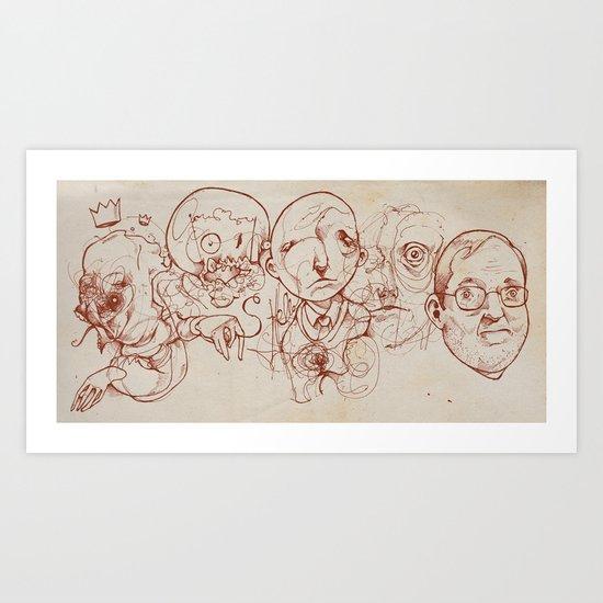 Tourniquet Art Print