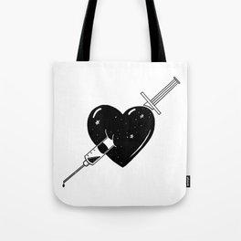 Hook on love Tote Bag