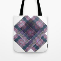 scandinavian Tote Bags featuring Scandinavian orient by a.r.r.p.