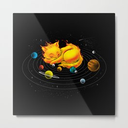 The Center Of My Universe Metal Print