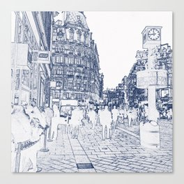 London Leicester Square Store Canvas Print