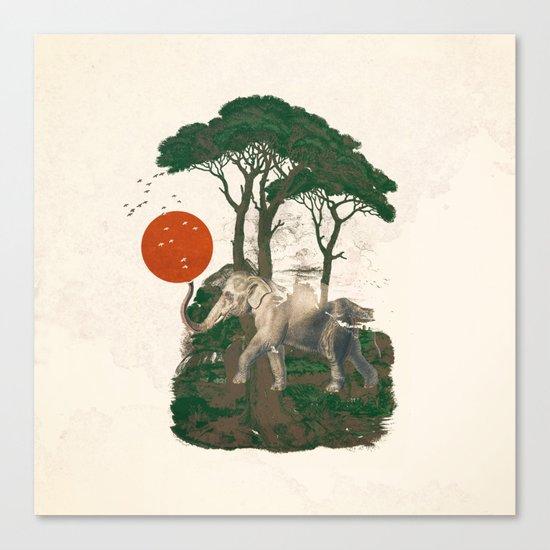 Savanna Sunrise Canvas Print