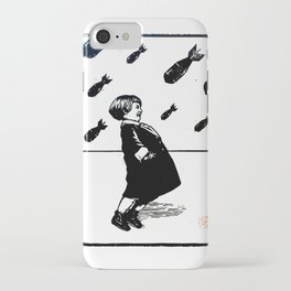 Laughing Child - In The Face Of Danger iPhone Case