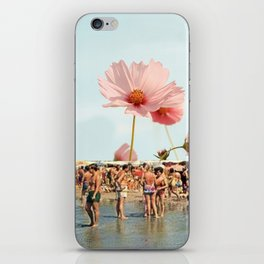 Vintage Flower Beach iPhone Skin