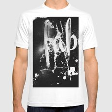Faber Mens Fitted Tee MEDIUM White