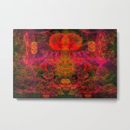 Passion Burst Metal Print