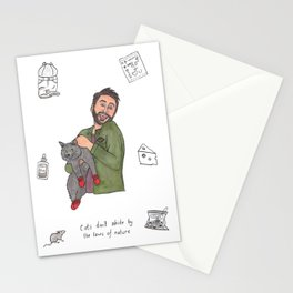 Charlie Kitten Mittens Stationery Cards