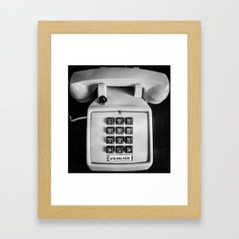 1-818-Fun-Time Framed Art Print