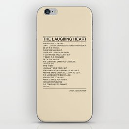 The Laughing Heart iPhone Skin