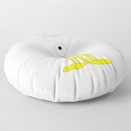 Fred The Alien Floor Pillow