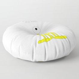 Fred The Alien Floor Pillow