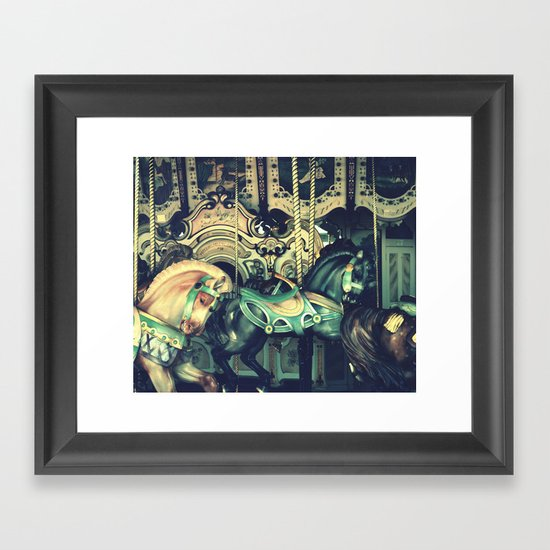 Grab the Ring Framed Art Print