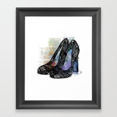 Pumps Framed Art Print