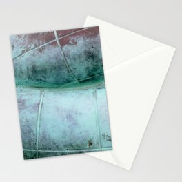 Copper statue detail Stationery Cards