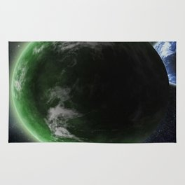 The Green Planet Rug