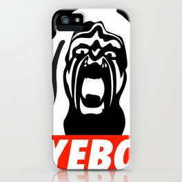 YEBO WARRIOR iPhone Case