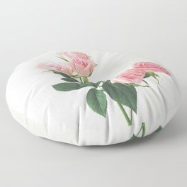 Spring Roses Floor Pillow